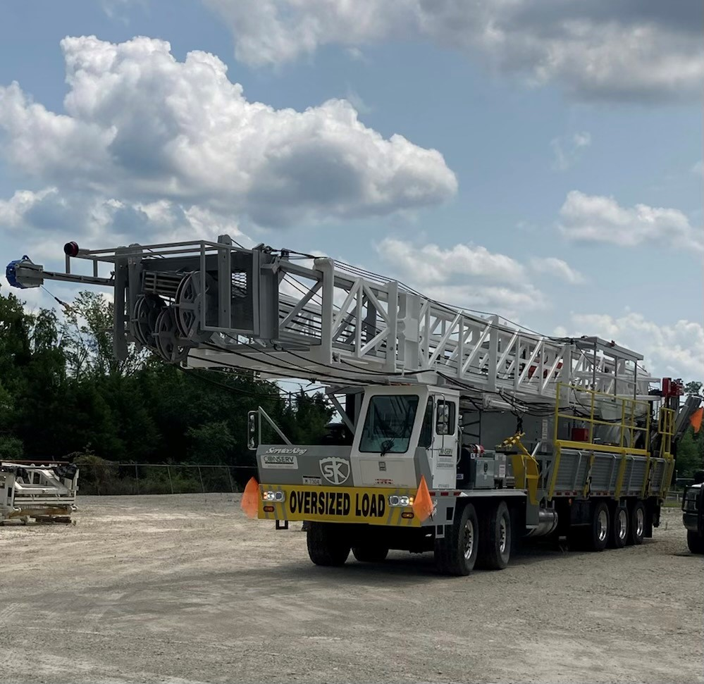 Here We Go…. ConServ's BRAND NEW 2021 Rig #8 Deployed